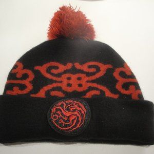 EUC Game of Thrones Knit Beanie with PomPom